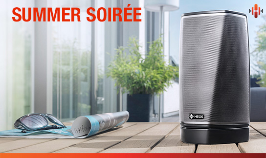 Throw the Ultimate Summer Soirée with a HEOS Outdoor Speaker System