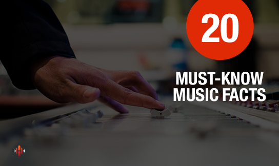 20 Music Facts That Will Blow You Away